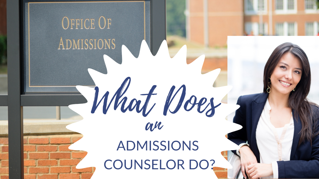 Learn more about what admission counselors do!