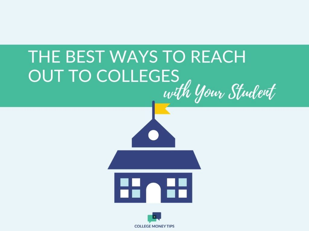 If you're ready to build up those college contacts and develop  relationships during the college search, good for you! Here's how!