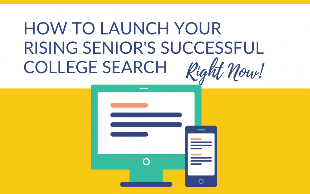 What is a rising senior?